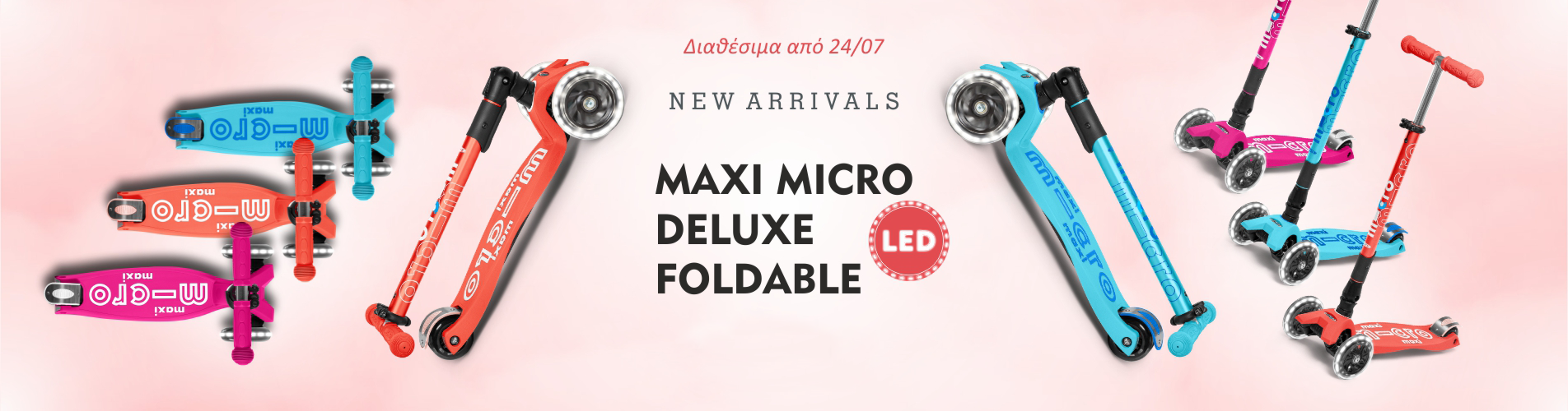 Maxi Micro Deluxe Foldable LED